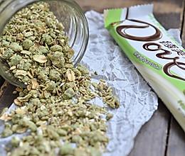 抹茶巧克力曲奇麦片#冷藏更香脆#的做法