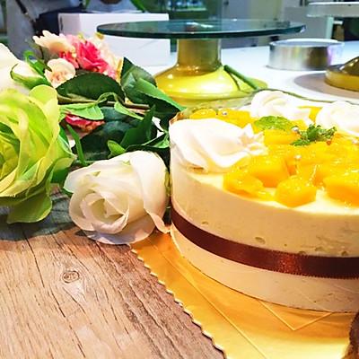榴蓮芒果凍芝士蛋糕