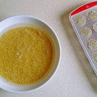 绿黍红花枣生粽的做法图解3