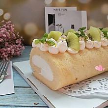 奶油奶酪蛋糕卷#我的拿手好菜#