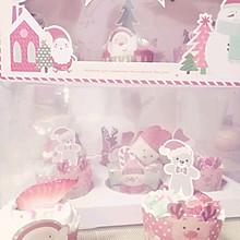 圣诞马芬蛋糕