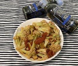 #少盐饮食 轻松生活#西红柿炒花菜的做法
