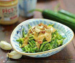 赞不绝口的凉拌菜-花生酱凉拌日本小青瓜的做法