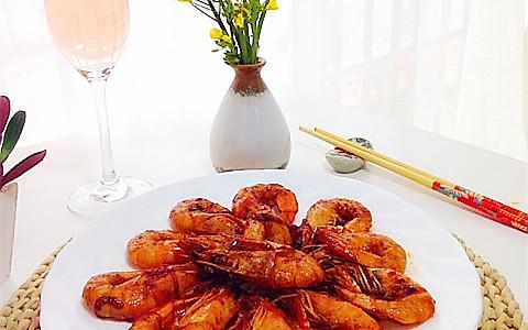 油焖大虾----宴客必备的做法