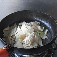 【大喜大牛肉粉试用之二】----辣白菜烧豆皮的做法图解3