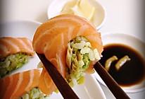 牛油果三文鱼寿司的做法