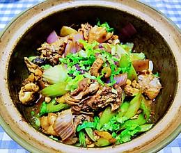 #下饭红烧菜#肉嫩味足家常版鸡公煲的做法