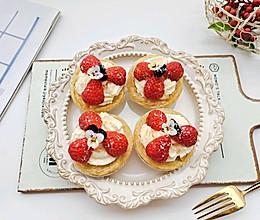 #元宵节美食大赏#草莓季来做一款甜心草莓可颂的做法