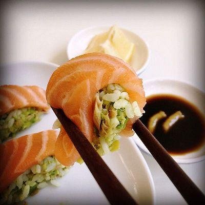 牛油果三文鱼寿司