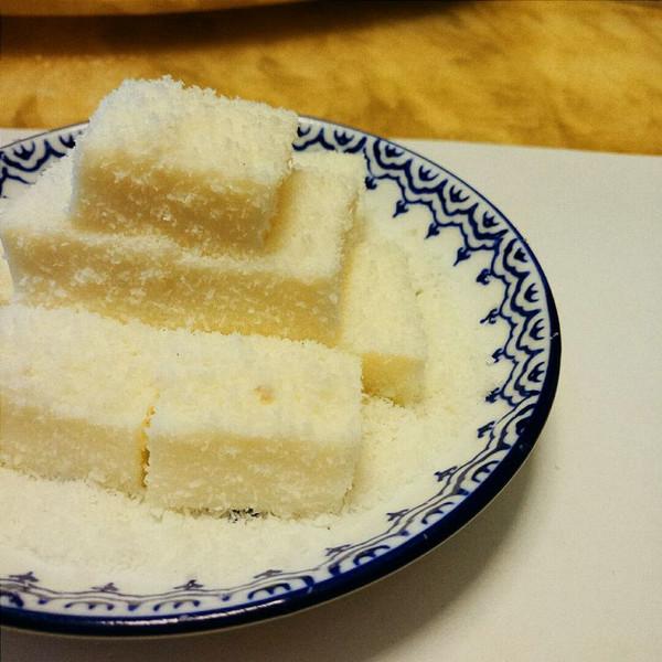 椰蓉牛奶冻的做法