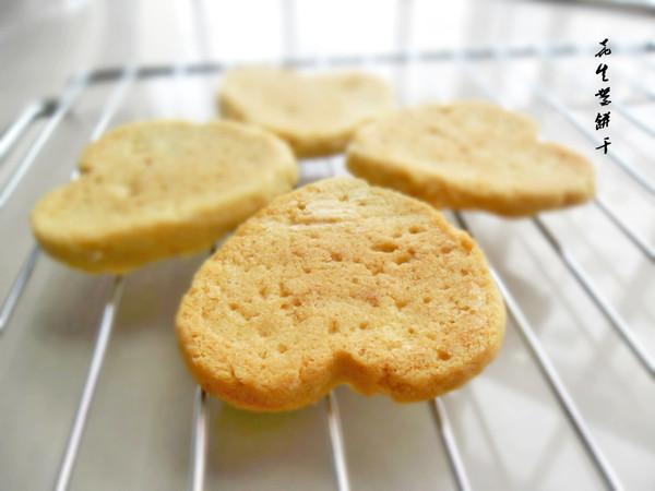 微波炉花生酱饼干的做法