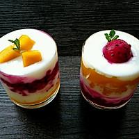 香芒火龙果酸奶杯(高颜美味)的做法图解7