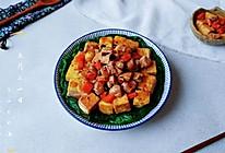 豆腐红油豆腐鸡的做法