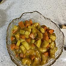 简单美味的咖喱虾仁