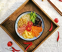 春雨~五彩粉丝#麦子厨房#美食锅的做法