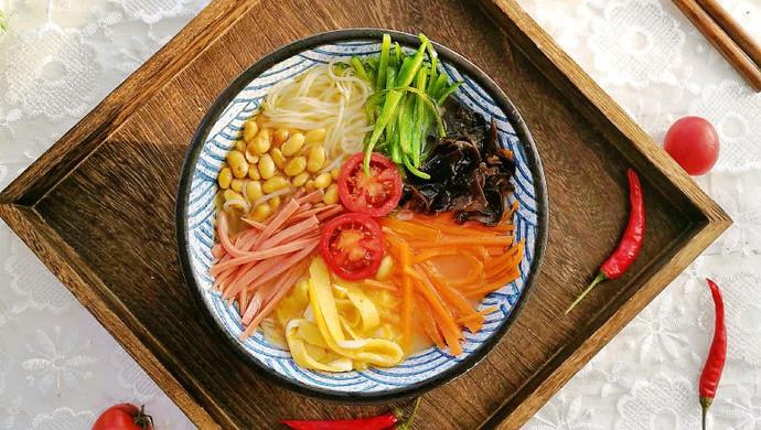 #秋天怎么吃#春雨~五彩粉丝#麦子厨房#美食锅