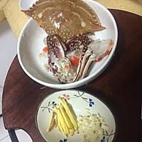 海蟹粥的做法图解2