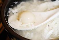 醪糟蛋白小汤圆的做法