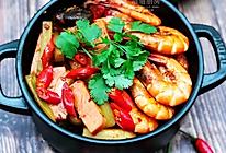 红红火火干锅虾的做法