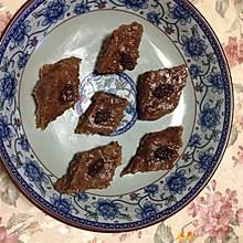 苏州名点-枣泥拉糕