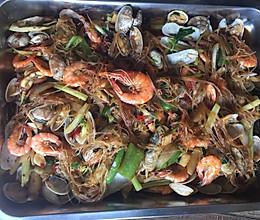 海鲜大盘的做法