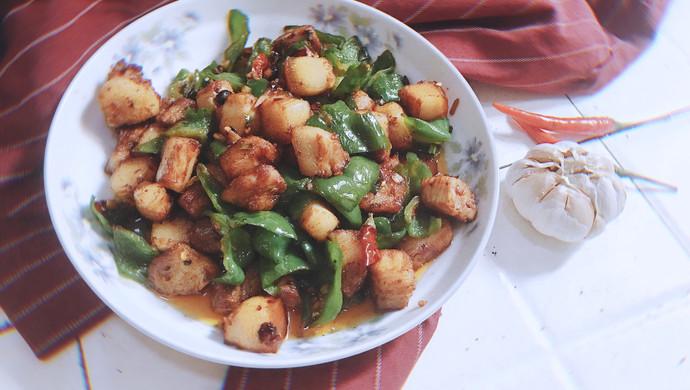 #花10分钟,做一道菜!#【越の厨】——辣猪