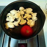 西红柿菜花鸡蛋面--宝宝辅食的做法图解3