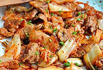 泡菜辣炒五花肉的做法