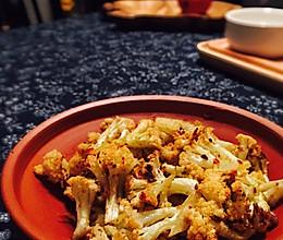 香辣烤菜花的做法