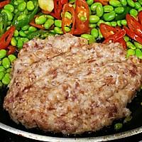 家常菜-辣椒毛豆炒肉沫的做法图解8