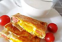 #餐桌上的春日限定#三分钟搞定的鸡蛋灌饼的做法