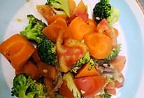 鸡胸肉炒胡萝卜西兰花的做法