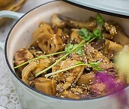 藕断丝连手足情深——无水陈皮糖醋鸡翅凤爪土藕煲(北鼎珐琅锅)的做法
