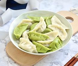 手工菠菜水饺的做法