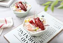 小龙虾培根青豆玉米粥的做法