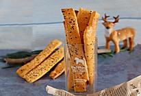 红薯芝麻脆饼,健康零食的做法