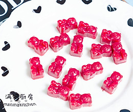 小熊QQ糖,用藕粉来做回小糖果吧的做法
