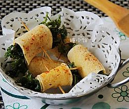 街边小吃【香菜豆皮卷】的做法
