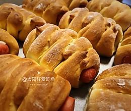 火腿肠面包~早餐必备#人人能开小吃店#的做法