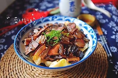 酱肉蒸春笋