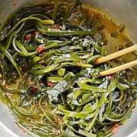 蒜茸辣酱海带丝-#德国Miji爱心菜#的做法图解5