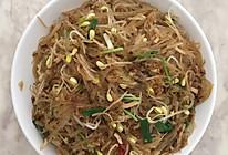 牛肉鱿鱼炒薯粉的做法