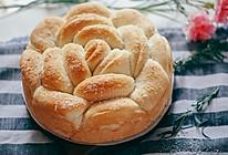 沙拉酱椰蓉手撕花朵面包的做法