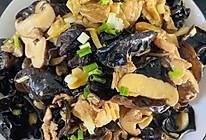 木耳香菇肉片的做法