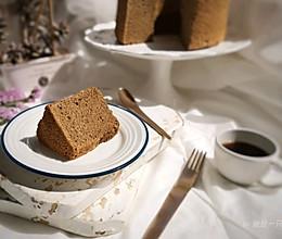 超润咖啡戚风蛋糕的做法