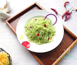 凉拌莴笋丝#爽口凉菜,开胃一夏!#的做法
