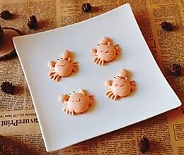 #马卡龙·奶油蛋糕看过来#金秋小螃蟹的做法