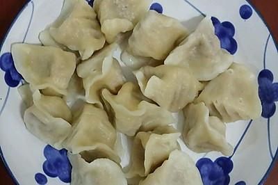 胡萝卜羊肉饺子