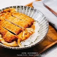 日式猪排盖饭丨硬气又温柔的做法图解10