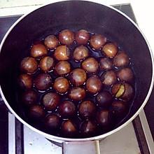 酱油煮栗子